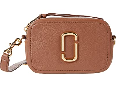 Marc Jacobs The Softshot 17 Crossbody (Milk Chocolate) Cross Body Handbags
