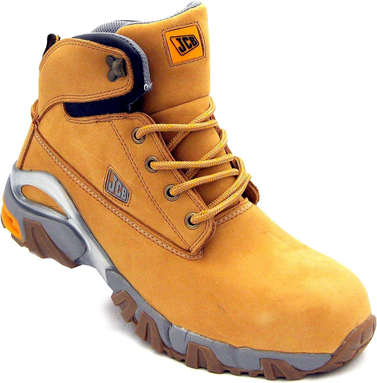 JCB 4x4 H Men's S3 Nubuck Safety Boots