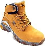 JCB 4x4/H Men's S3 Nubuck Safety Boots