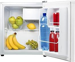Tristar KB-7352 Refrigerador, Acero Inoxidable, Blanco, 45.
