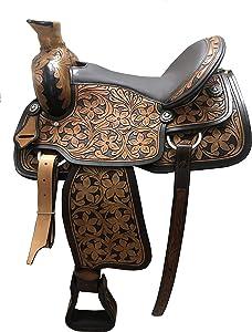 Ayesha International Western Leather Endurance Saddle