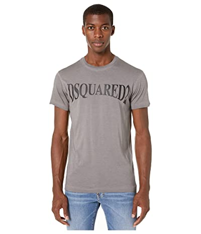 DSQUARED2 Best Fade Branded Cool Fit T-Shirt (Grey) Men