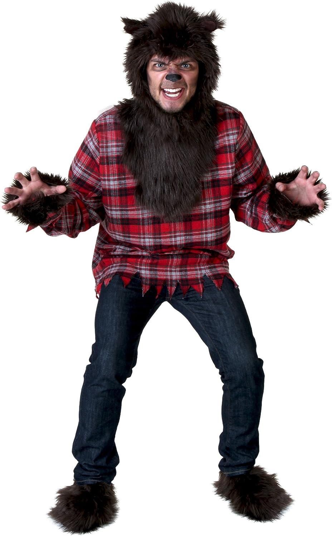Sin impuestos Plus Talla Talla Talla Werewolf Fancy dress costume 5X  moda