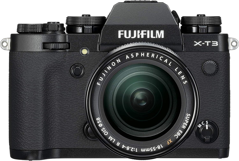 FUJIFILM X-T3   FUJINON XF18-55mmF2.8 R LM OIS Kit Negro