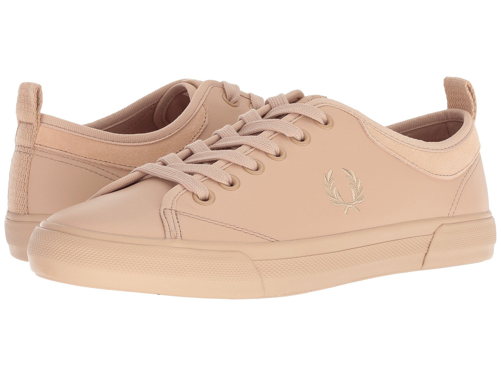 Horton Natural Leather suede Fred Perry Tan 8nUFqn1z