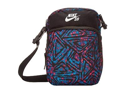 Nike SB Heritage 2.0 (Black/Laser Blue/White) Cross Body Handbags