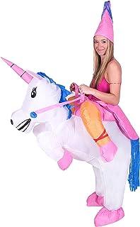 Bodysocks® Disfraz Hinchable de Unicornio Adulto