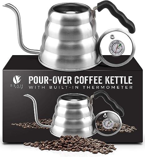 Bean Envy Gooseneck Pour Over Coffee Kettle