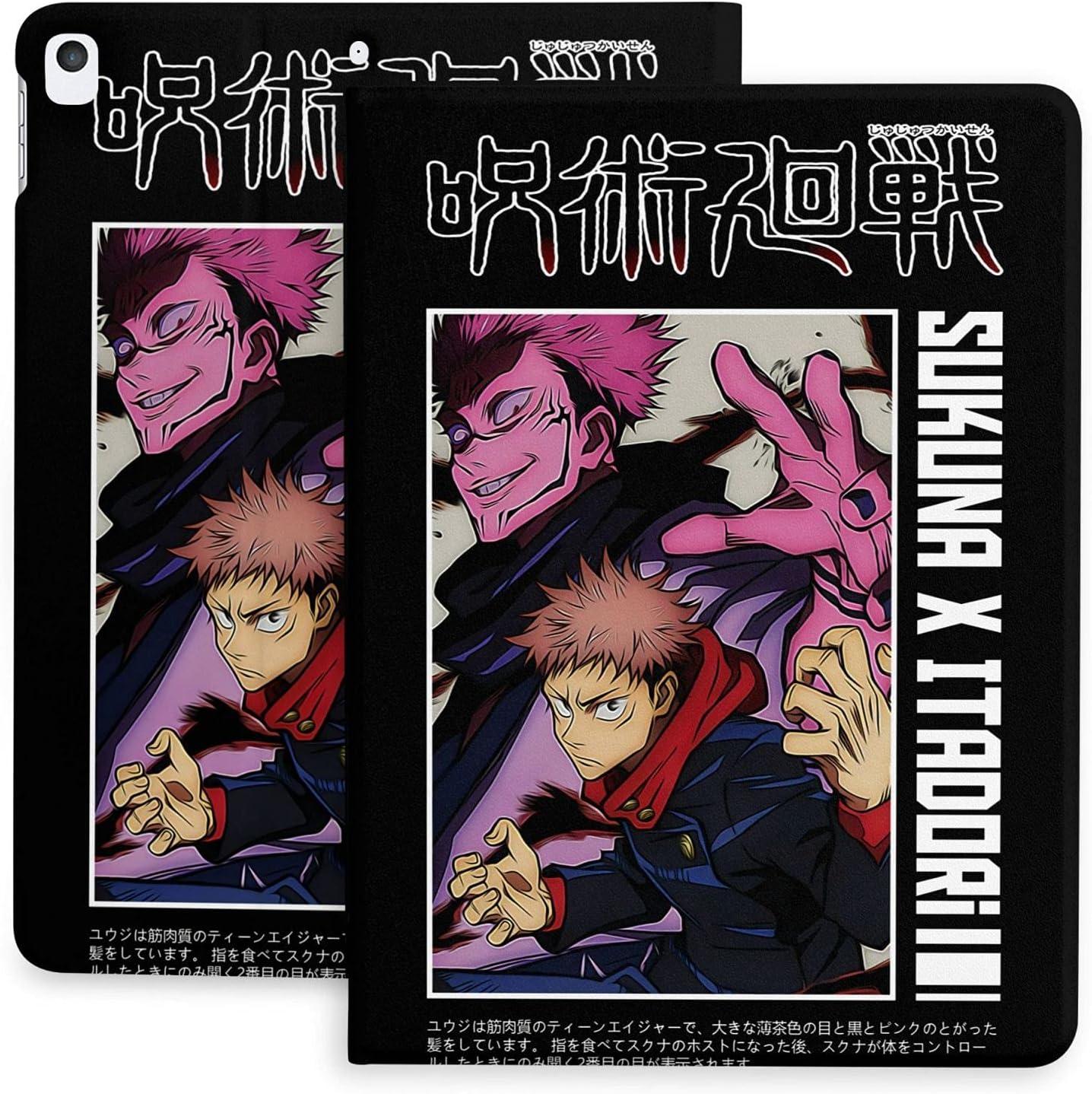 Anime Ipad Case Jujutsu Kaisen Yuji 2020 Itadori Cheap mail order sales Retro Over item handling ☆