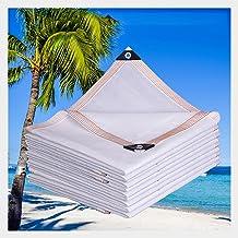 LIXIONG Sunblock schaduwdoek, wit anti-UV-polyethyleenblok, licht en cool down anti-aging privacy voor landbouwgordijn, ra...