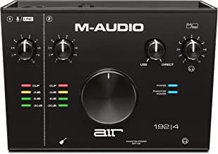 M-Audio AIR 192|4 — 2-In/2-Out USB Audio Interface with Recording Software from..