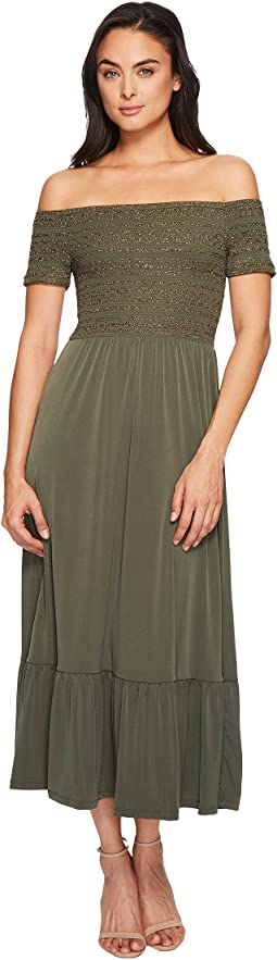 MICHAEL Michael Kors - Smock Bodice Dress