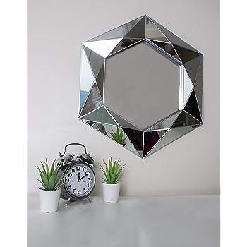 Miroir rectangulaire Lena avec Cadre en Verre Kave Home