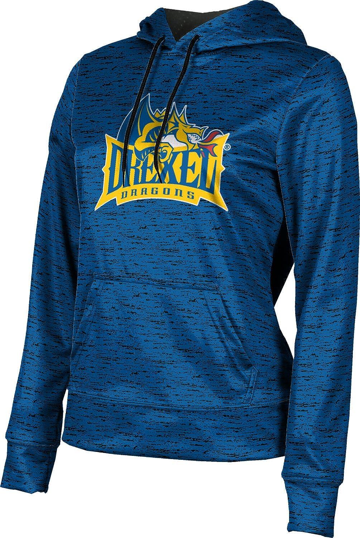 Drexel University Girls' Pullover Hoodie, School Spirit Sweatshirt (Brushed)