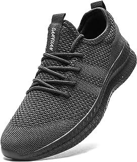 Laufschuhe Herren Schuhe Sportschuhe Turnschuhe Sneaker Joggingschuhe Running Joggen Atmungsaktiv Walkingschuhe Outdoor Tr...