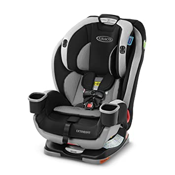 Graco Extend2Fit 3 in 1 Car Seat, Ride Rear Facing Longer, Garner, 21.56 pounds: image
