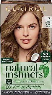 Clairol Natural Instincts Semi-Permanent Hair Color, 7 Dark Blonde, 1 Count