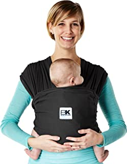 Baby K'tan Breeze Baby Wrap Carrier, Infant and Child Sling – Simple Wrap..