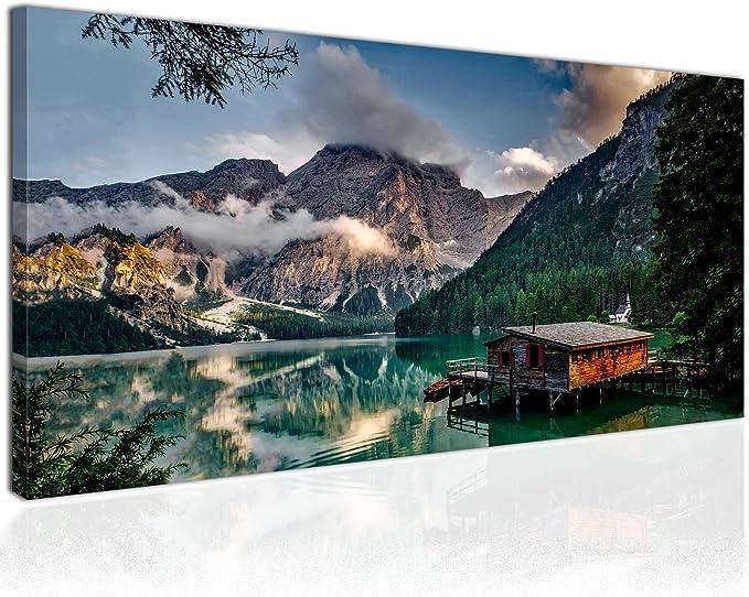 GEBIRGE LANDSCHAFT Wandbilder xxl Bild Vlies Leinwand Leinwandbild ...