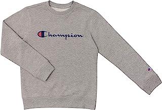Champion Unisex Heritage Kids Fleece Script Pullover Sweatshirt