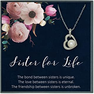 Sister Gifts from Sister Quotes Jewelry for Sister Birthday Gifts for Big Sister Gifts for Sisters