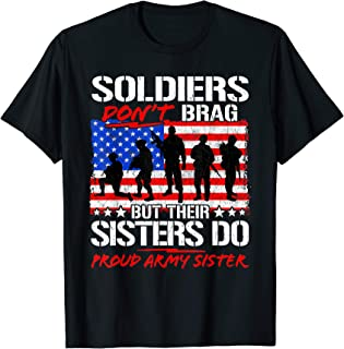 Best sister army shirts Reviews
