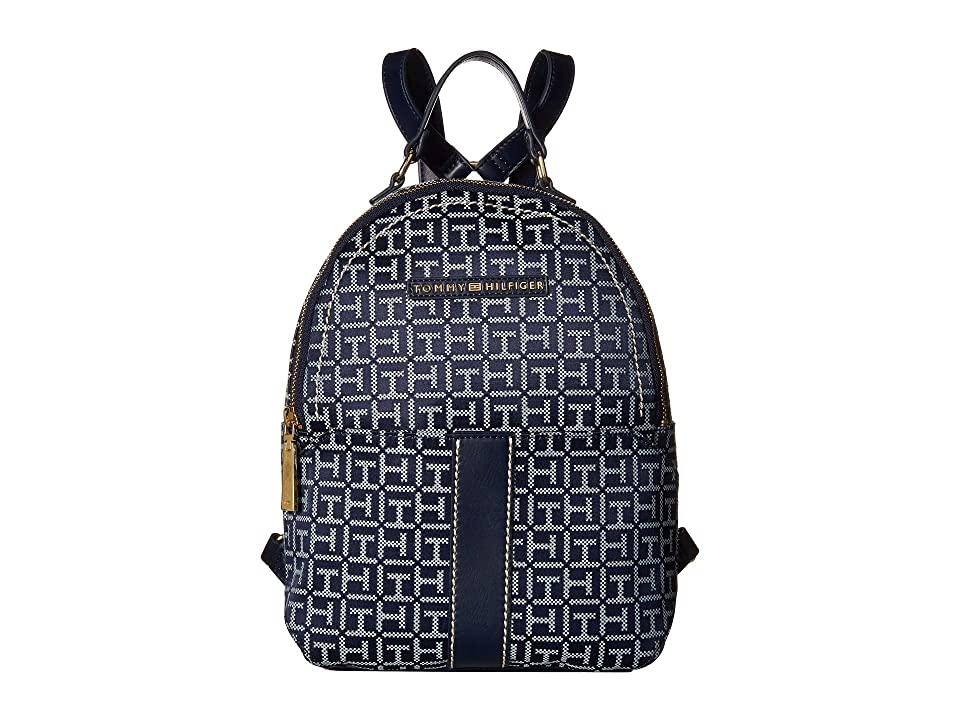 Tommy Hilfiger Raina Backpack (Navy/White) Backpack Bags