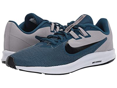 Nike Downshifter 9 (Atmosphere Grey/Topaz Mist/Blue Force) Men