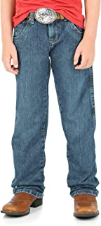 Wrangler Boys' Relaxed Retro Slim Fit Straight Leg Jean