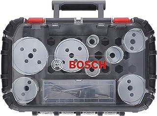 Bosch Professional 11-delars hålsågssats Progressor for Wood & Metal (för elektriker, tillbehör borrmaskin)