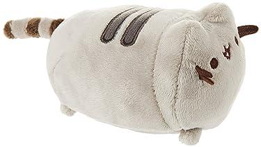 """GUND Pusheen Phone and Computer Screen Cleaner Plush Stuffed Animal Cat, Gray, 4"""""""