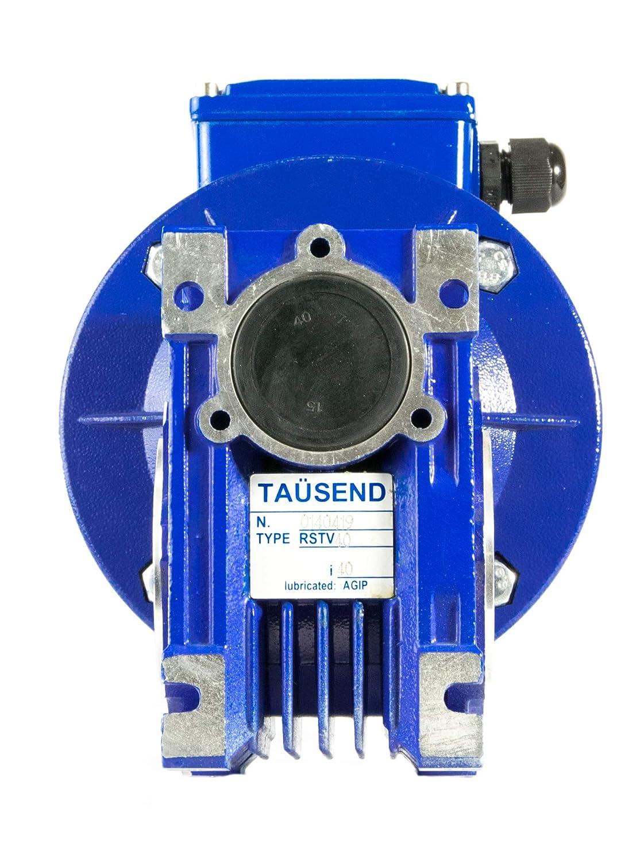 400V 0,25CV 17 RPM DE SALIDA MOTORREDUCTOR TRIFASICO 220V 0,18KW