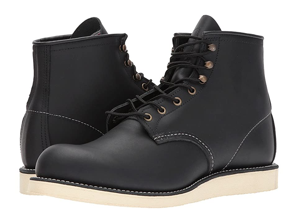 Red Wing Heritage 6 Rover Round Toe (Black Harness) Men
