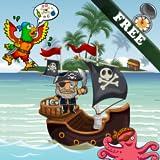幼児や子供のための海賊のパズル!教育パズルゲーム:海賊湾を発見!無料ゲーム
