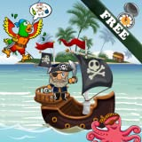 Pirates Puzzles for Toddlers and Kids ! Educational Puzzle Games FREE : Discover the pirate bay !