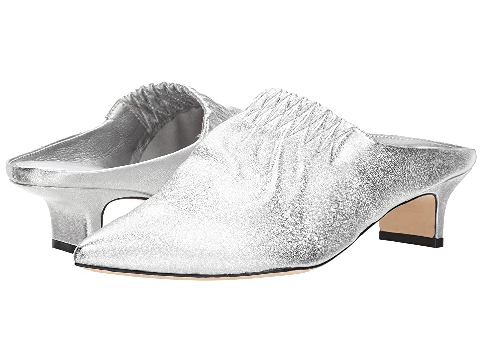 Sigerson Morrison Marie (Silver Buttery Leather) Women