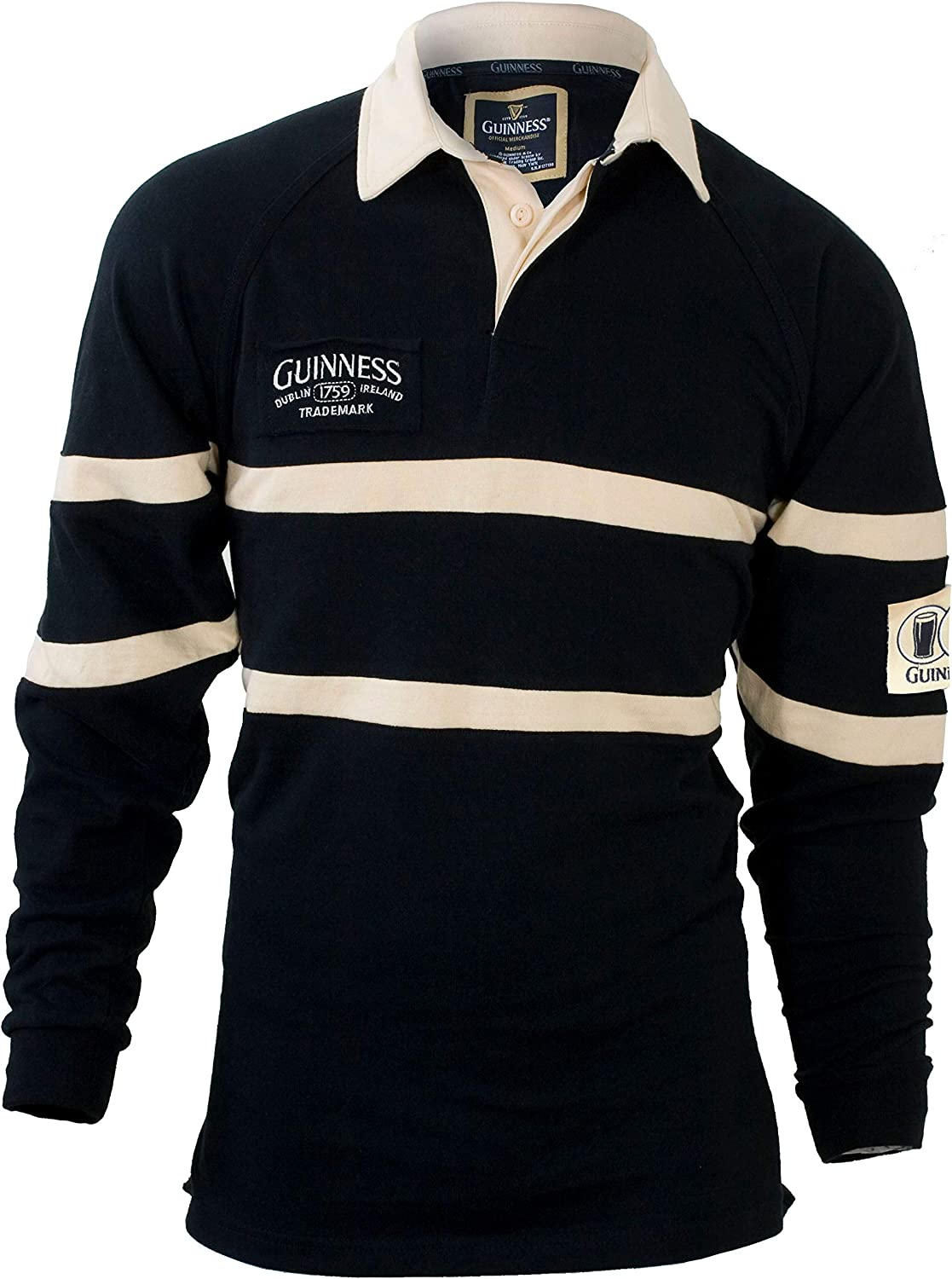 Guinness Traditional Black and Jersey Rugby 5 ☆ very popular Cream Nashville-Davidson Mall