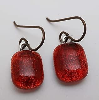 Best dichroic glass earrings Reviews