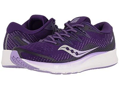 Saucony Ride ISO 2 (Purple) Women