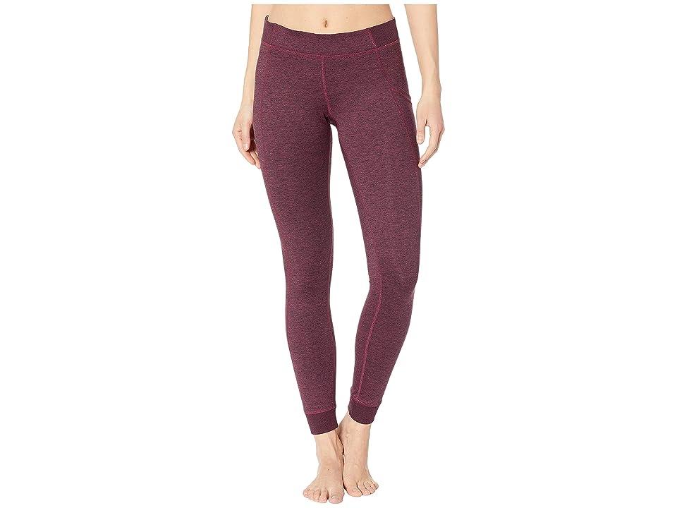 Champion Gym Issuetm Tights w/ Side Pocket (Dark Berry Purple) Women