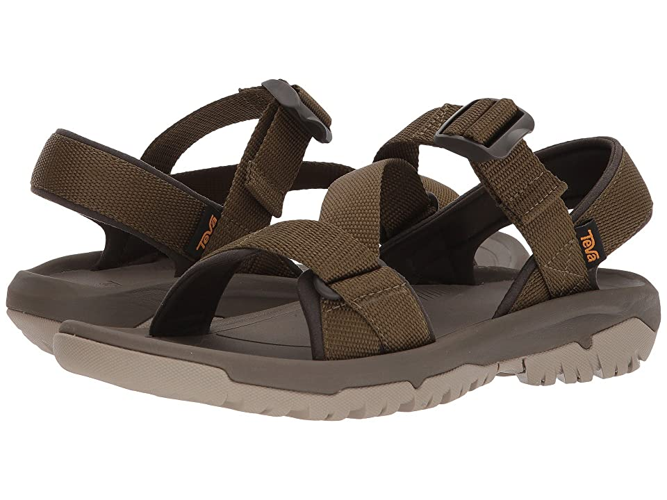 Teva Hurricane XLT2 Cross Strap (Dark Olive) Men