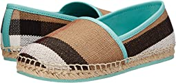Burberry Kids - Espadrille with Check (Toddler/Little Kid)