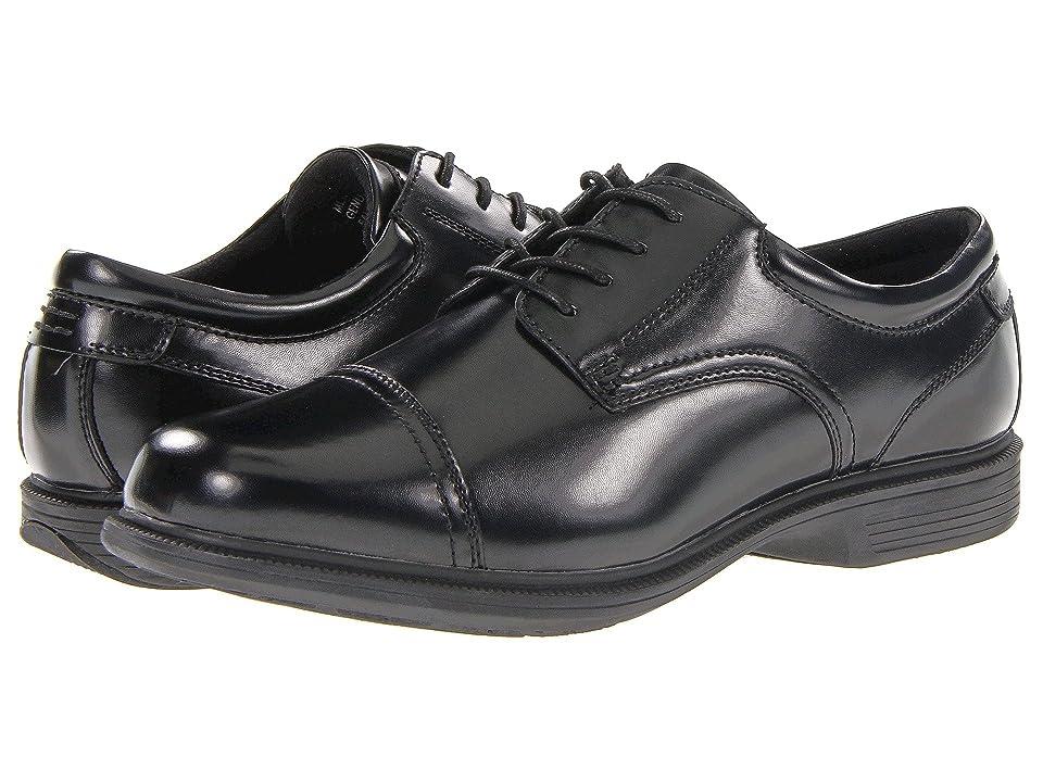 Nunn Bush Beale St. Cap Toe Oxford (Black) Men
