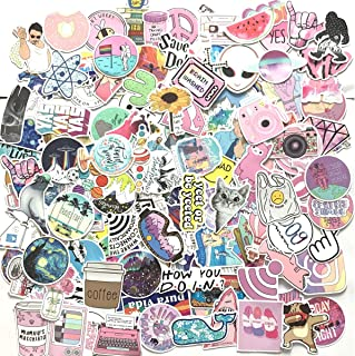 VARWANEO 156 Pcs Cute Stickers,Laptop and Water Bottle Decal Sticker Pack for Teens, Girls, Women Vinyl Stickers Waterproof