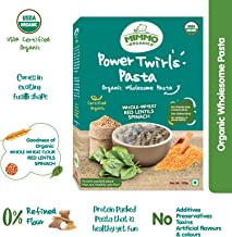 Mimmo Organics Veggie Elbows , 100% Certified Organic , Organic semolina, Beetroot, Carrot ,No Refined Flour - 250 g