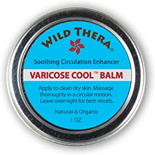 Wild Thera Herbal Varicose Veins Cream and Treatment with Arnica and Horse Chestnut. for Spider Veins, Leg Edema and Nerve...