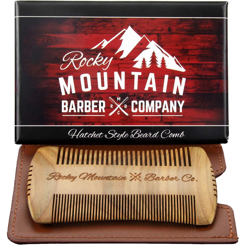Beard Comb - Sandalwood Natural Fashion Style for Hatchet Phoenix Mall Hair Anti-St