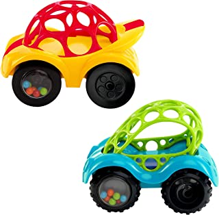 Oball Rattle & Roll Toy 1-Piece,Assorted Colors