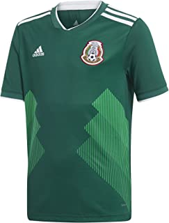 adidas Youth Mexico 2018 Home Replica Jersey