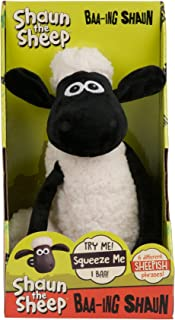 Shaun the Sheep -  Shaun BaahingStuffed Plush Toy,28 x 14 x 11cm
